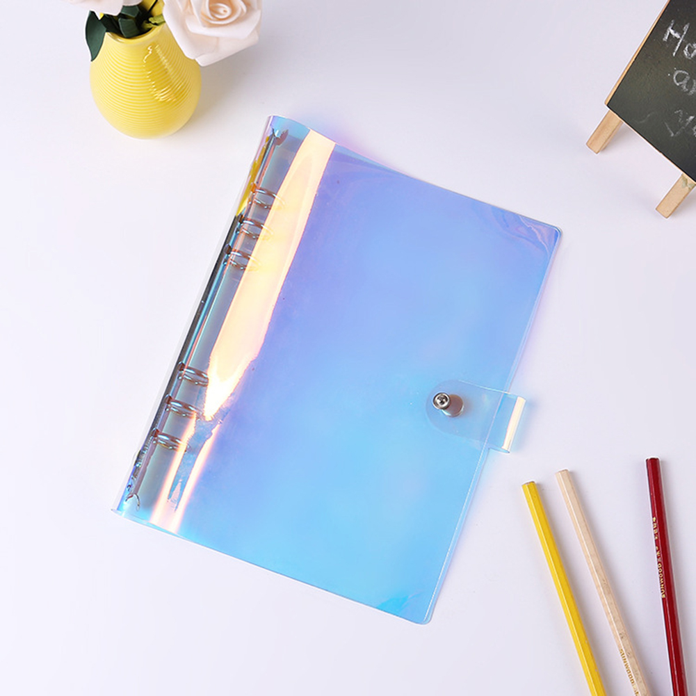 A5 A6 A7 6 Holes PVC Binder Folder File Cover For Journal Note Book Diary Notepad Office School Supplies image