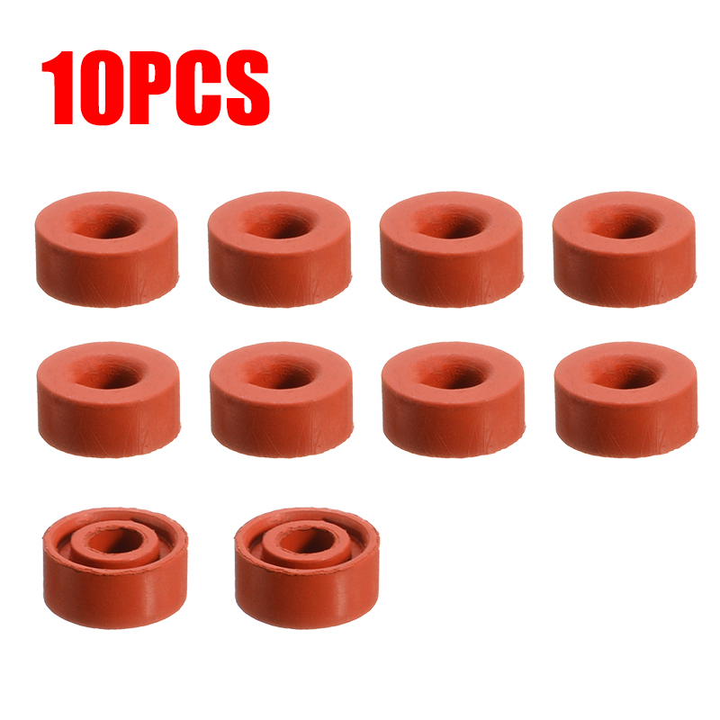 10PCS Carburetor Carb Float Valve Needle Seat Kit Replacement For 5/6 HP Vertical 3.5/5 HP Plus Engines Lawnmowers Parts
