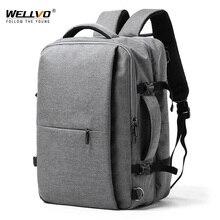 Splashproof 15.6 inç dizüstü sırt çantası Anti hırsızlık erkekler Oxford sırt çantası seyahat kadın el okul çantası erkek sırt çantası mochila XA302ZC