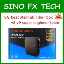 2020 Singapore best starhub fiber iptv box free for life and short delay Singapo