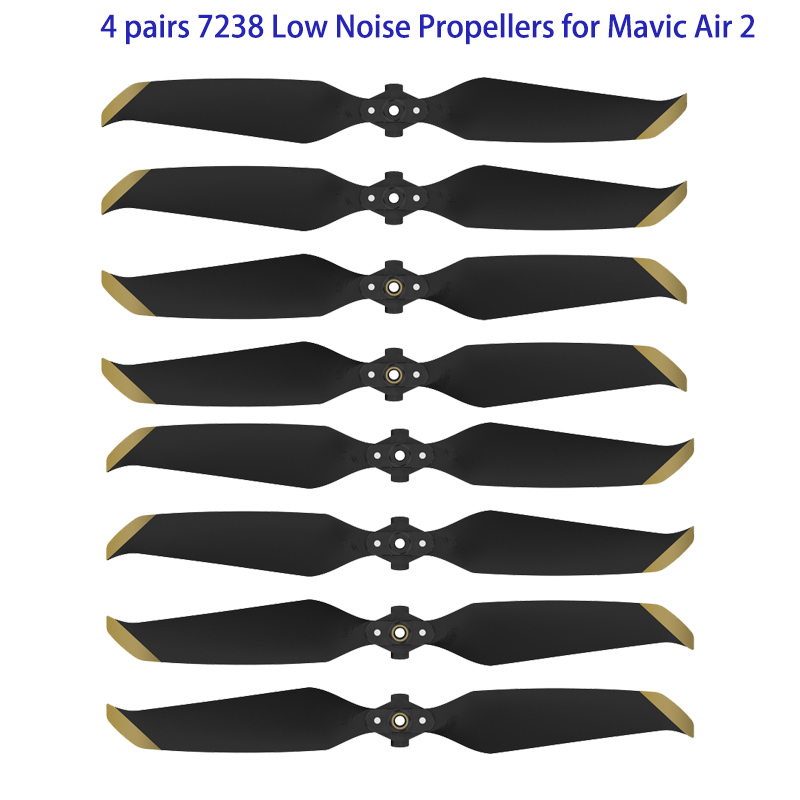 Permalink to New Arrival 4 pairs 7238 Low Noise Props 7238F Propellers for DJI Mavic Air 2 Drone Accessories