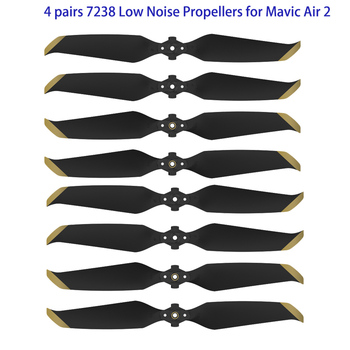 New Arrival 4 pairs 7238 Low Noise Props 7238F Propellers for DJI Mavic Air 2 Drone Accessories