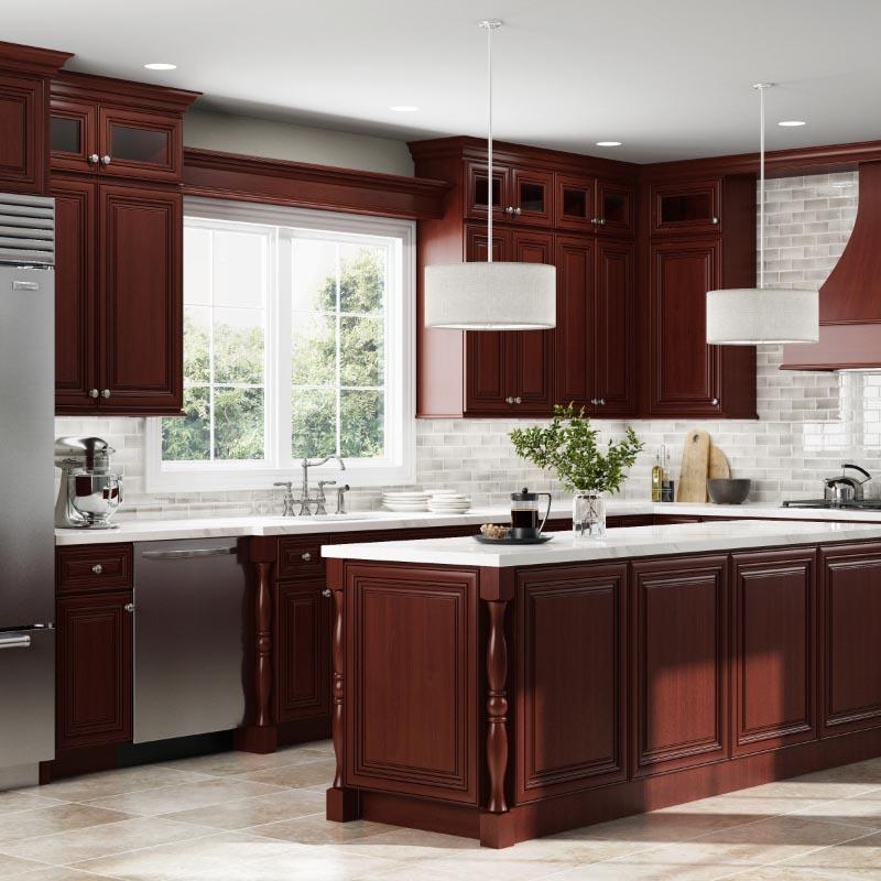 Kitchen Cabinets With Precut Granite