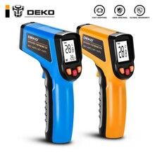 DEKO WD01 Бесконтактный лазерный ЖК-дисплей ИК инфракрасный цифровой C/F выбор температуры поверхности термометр пирометр Imager