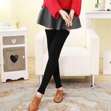 Популярные Модные теплые гетры для женщин, зимние вязаные однотонные вязаные гетры, зимние осенние носки, теплые сапоги, длинные носки с манжетами