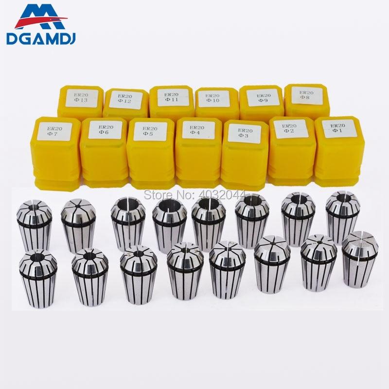 Engraving Machine Elastic Chuck ER8 ER11 ER16 ER20 ER25 ER32 ER40 Precision 0.015mm