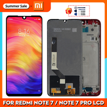 Original For Xiaomi Redmi Note 7 LCD Display Screen Touch Digitizer Assembly For Redmi Note 7 Pro LCD 10 Touch Repair Parts
