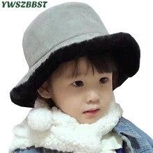 Fashion Children Hats for Girls Boys Plush Warm Baby Hat Cap Autumn Winter Kids Hat Women Hats Men Beanie Cap все цены