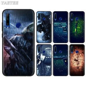 Counter Strike cs go Phone Case for Huawei Honor 8X 9X 8A 9A 9S 9C 10i 10 20 Lite 20S 20e 30 Pro+ tpu Soft Cases Cover