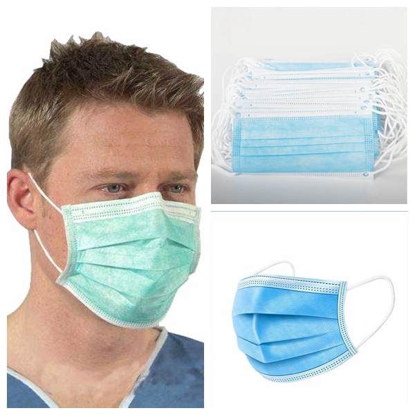 10/20/50 PCS 3-Ply Face Mask Anti Pollution Breathable Mask Mouth Mask Elastic Soft Breathable Dustproof Mask