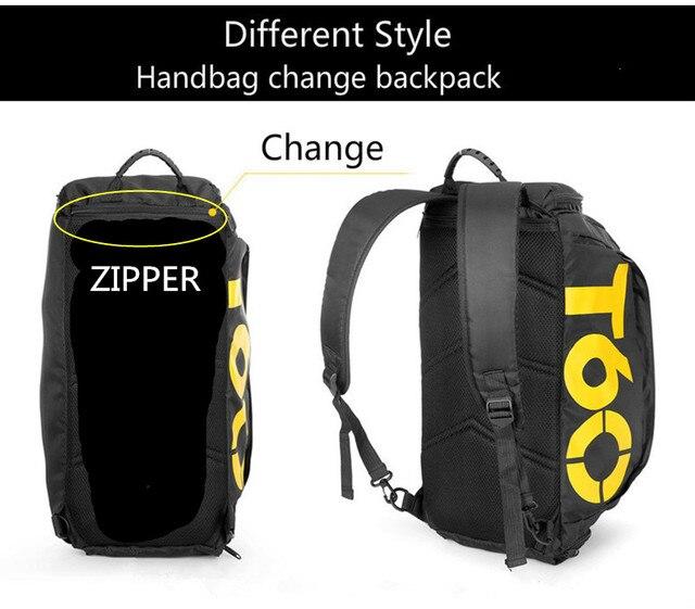 Gym Bag Gym Bag Waterproof Fitness Bag Sport Men Women Bag Outdoor Fitness Portable Gym Bags Ultralight Yoga Gym Sports Backpack. - FitnessKim
