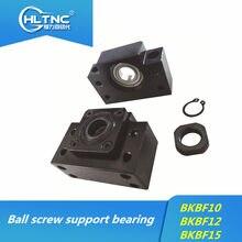 De vis à billes roulement de support BK10 BF10 BK12 BF12 BK15 BF15 BK17 BF17 BK20 BF20 6001 roulement/7001 roulement pour CNC pièces