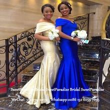 Women Off Shoulder Bridesmaid Dresses For Teenage Women Roya