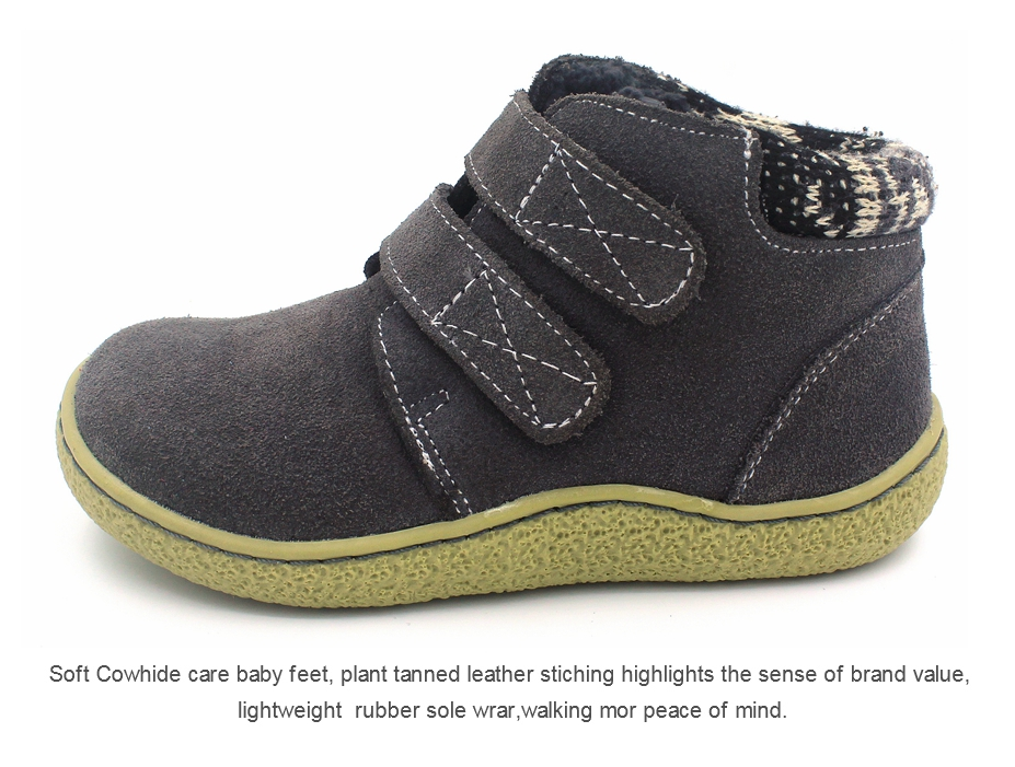 The Winter Of The Children Shoes Girl Casual Shoes Natural Leather Casual Shoes Boots Shoes Breathable Boy