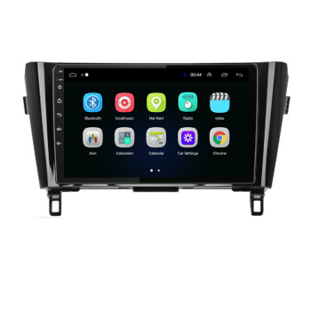 4G LTE Android 10.1/9/8.1 For NISSAN Qashqai X-TRAIL 2014 2015 2016 2017- Multimedia Stereo Car DVD Player Navigation GPS Radio image