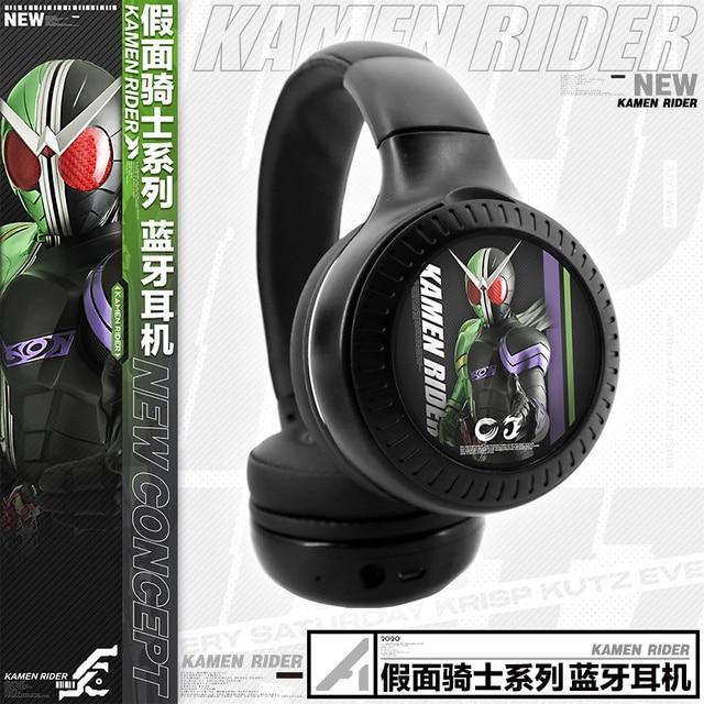 HOT Anime Kamen Rider Zi-O BUILD 01 Wireless Bluetooth Headset Comfortable Foldable Gaming Headphones Student Cosplay Xmas Gift 1