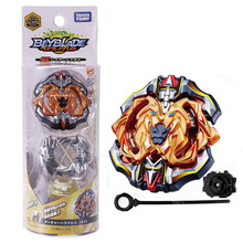Original TAKARA TOMY Beyblade Burst Bey Blade Toupie Metal Fusion with Launcher Gyro Toys Spinning Top B-115 original tomy toupie beyblade b 111 random bags v 10 bey blade bayblade burst top spinner toy for children without launcher