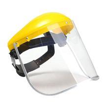 1x Прозрачная защитная шлифовальная маска для лица, защитная маска для глаз, защитная маска для лица на рабочем месте