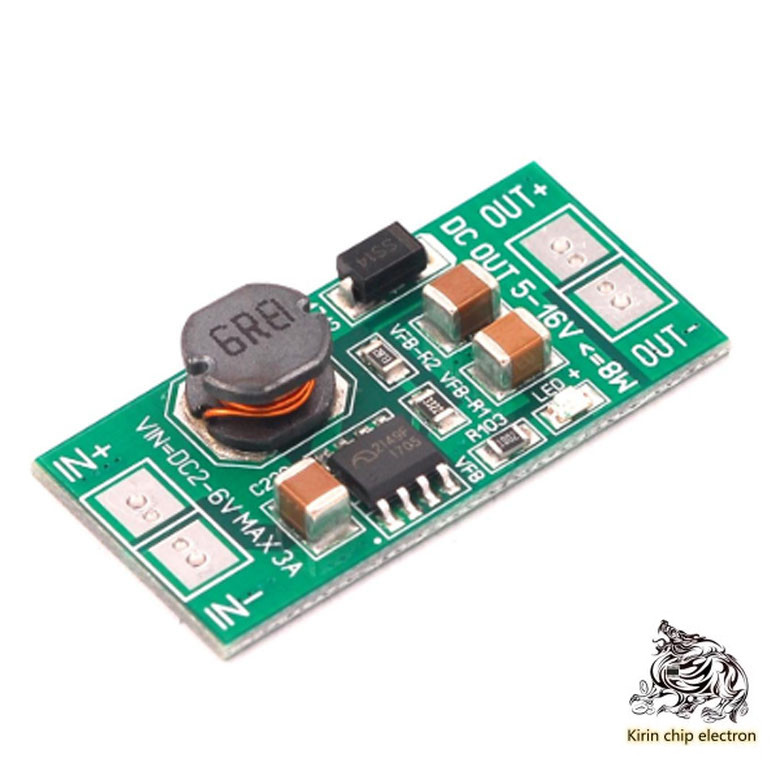 5PCS/LOT Low Voltage High Power Boost Voltage Regulator 8 W 5PCS/LOT V~12 V USB Pad DC Version