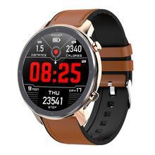 L11 Smart Watch Men Women ECG SmartWatch Heart Rate Monitor Full Round Touch Sma