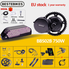 Conversion-Kit Mid-Drive-Motor BBS02 Electric-Bike 8fun Bafang Motor48v 750W Lithium-Battery-Kit