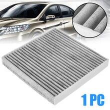 1pc Carbon Fiber Cabin Air Filter 80292-TF0-G01 CU21003 Universal For Honda Civic HR-V Insight Fit CR-Z