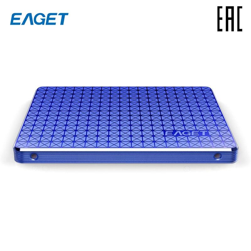 """EAGET SSD 256 Гб 2,5 """"SATA3 Внутренний твердотельный накопитель жесткий диск"""