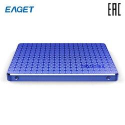 EAGET SSD 256 Гб 2,5 SATA3 Внутренний твердотельный накопитель жесткий диск