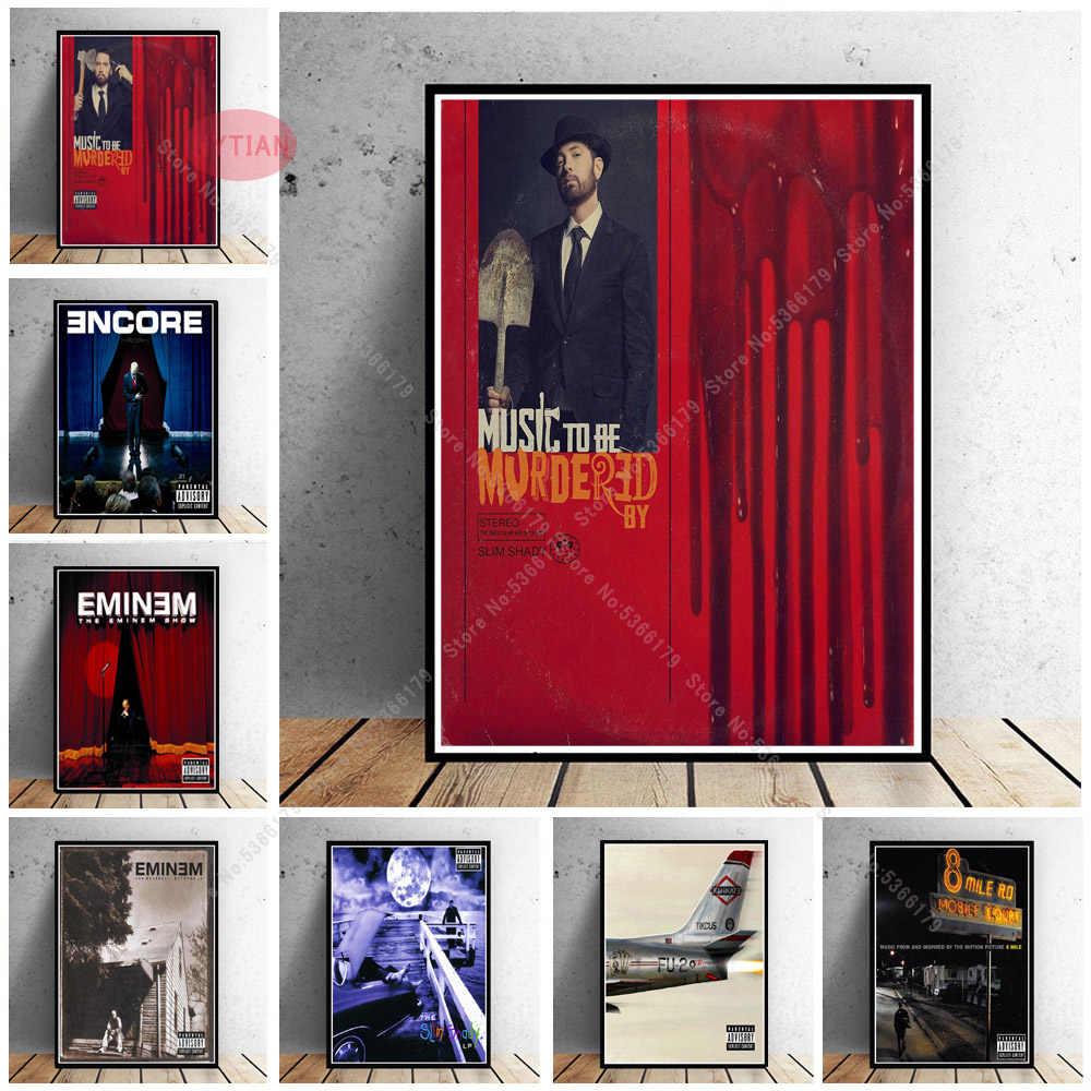 The Eminem Show Rapper Hip Hop Music Album Art 12x18 24x36in FABRIC Poster N3423