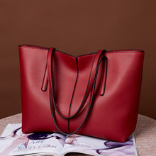 New fashion Tote lady's one shoulder inclined bag high quality and large capacity women's purses and handbags PU Free shipping стоимость