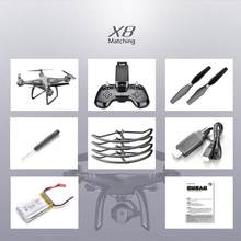 X8 2.4G 22 Mins Flight Time Altitude Hold 3D Flip Headless Mode Built in 6-axis Gyroscope RC Drone Quadcopter(China)
