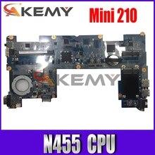 Материнская плата Akemy DANM6DMB6D0 REV D для ноутбука HP Mini 210 2102 608951-001 CPU N455 1,66 ГГц DDR3, только материнская плата, полностью протестированная