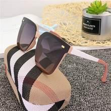 Okulary-gafas de sol cuadradas clásicas polarizadas para mujer, lentes de sol cuadradas de marca de lujo para viajes, conducir, playa, piscina, lentes de sol para dama 2020