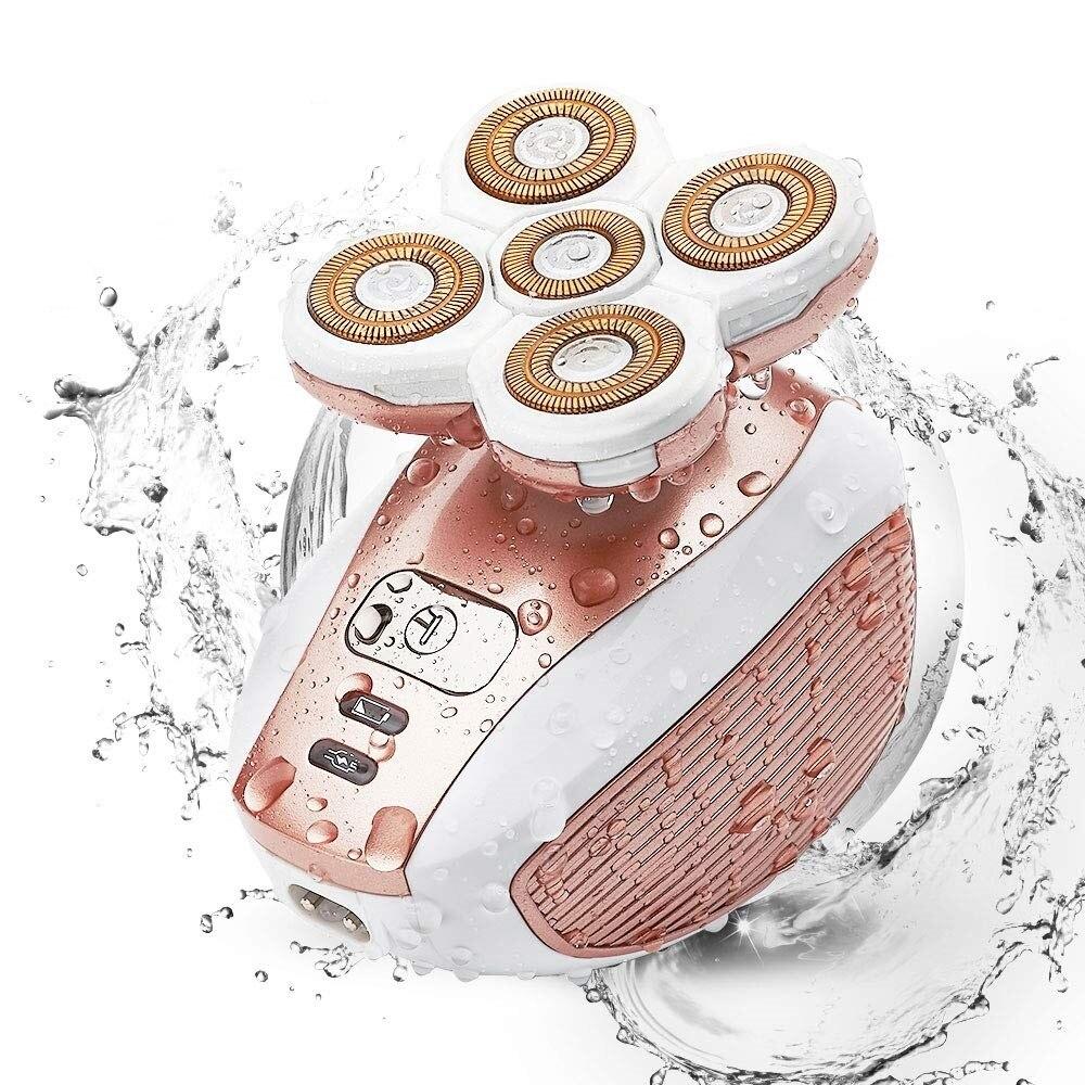 Painless hair removal epilator female shaving machine women razor leg body electric lip shaver for women cheek chin lady shaver 1