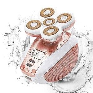 Image 1 - Pijnloze Ontharing Epilator Vrouwelijke Scheren Machine Vrouwen Scheermes Been Body Elektrische Lip Scheerapparaat Voor Vrouwen Wang Chin Dame Scheerapparaat