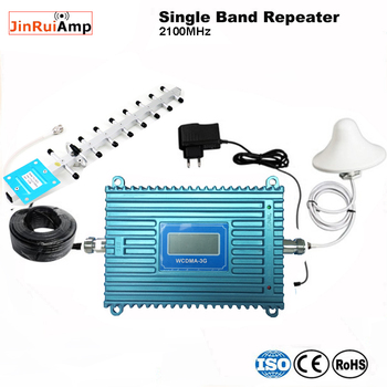 Gain 70dB (LTE Band 1) 2100 UMTS Mobile Signal Booster 3G (HSPA) WCDMA 2100MHz 3G UMTS Cellular Repeater Amplifier