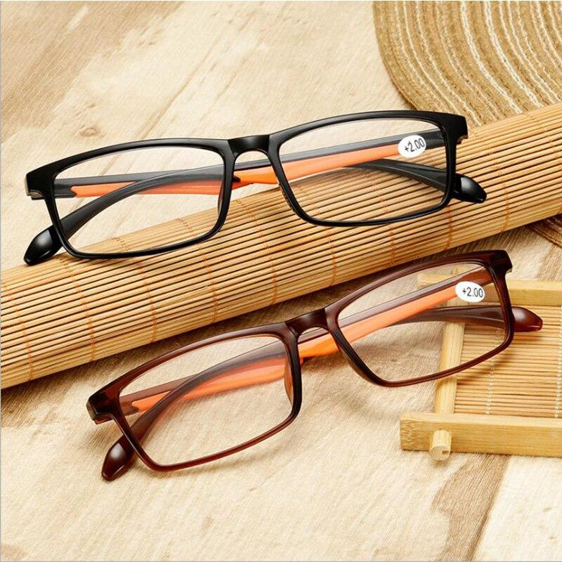 TR90 ультралегкие очки для чтения для мужчин и женщин, прозрачные линзы, очки для дальнозоркости, для мужчин и женщин, очки для чтения + 1,5 + 1,50 + 2...