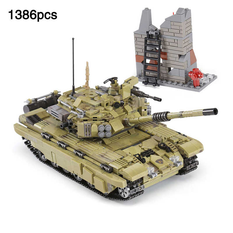 Army Series The Scorpio Tiger Tank vehicle compatible LegoINGlys Military Tank Building Blocks Bricks Toys For Children Gift