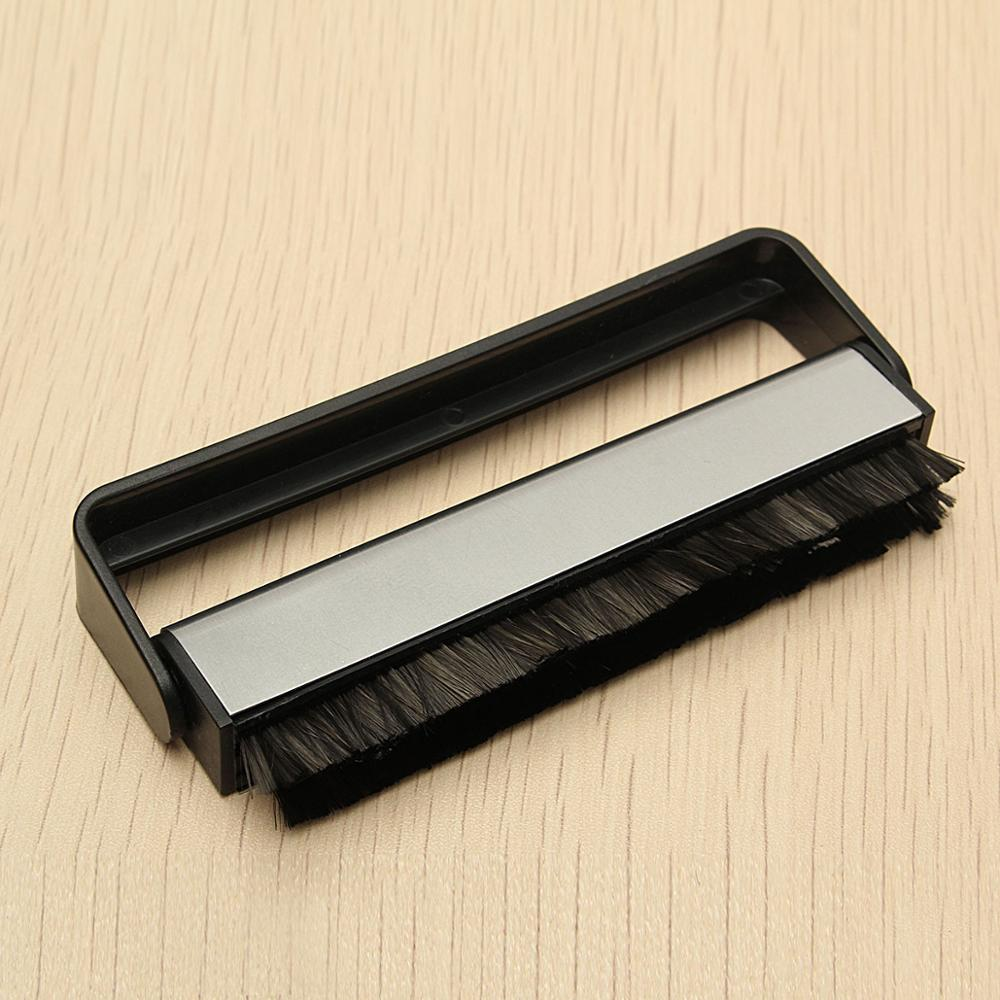 LEORY Vinyl Record Cleaning Kits Carbon Fiber Scrubbing Clean Brush Turntable Handle Cleaning Brush For LP Phonograph Records