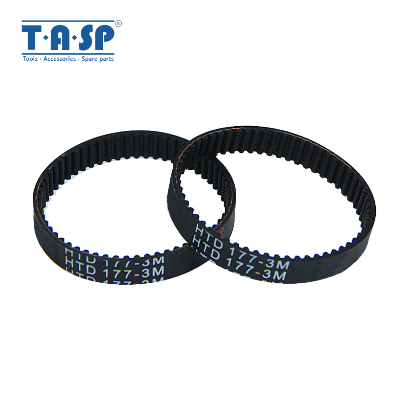 TASP 2pcs Electric Planer Drive Belt Of Toothed High Torque Replacement For Black & Decker KW715 KW713 BD713 Part No.324830-02