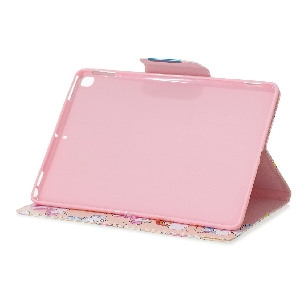 For 10.2 iPad Stand A2232 PU Capa Case 2019 10.2