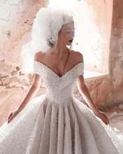 Robe de mariee Роскошные свадебные платья с большим балом Свадебные