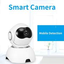 Smart Camera Webcam 1080P Wifi Pan-Tilt Night Vision 360 Angle Home Panoramic Wifi Ip Cam Video Camera View Baby Monitor(China)