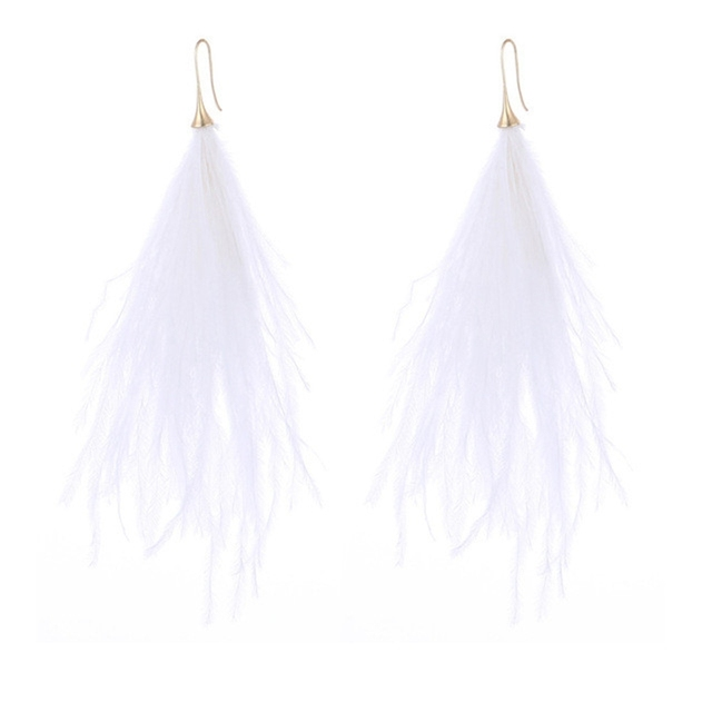 Korean Feather Earrings