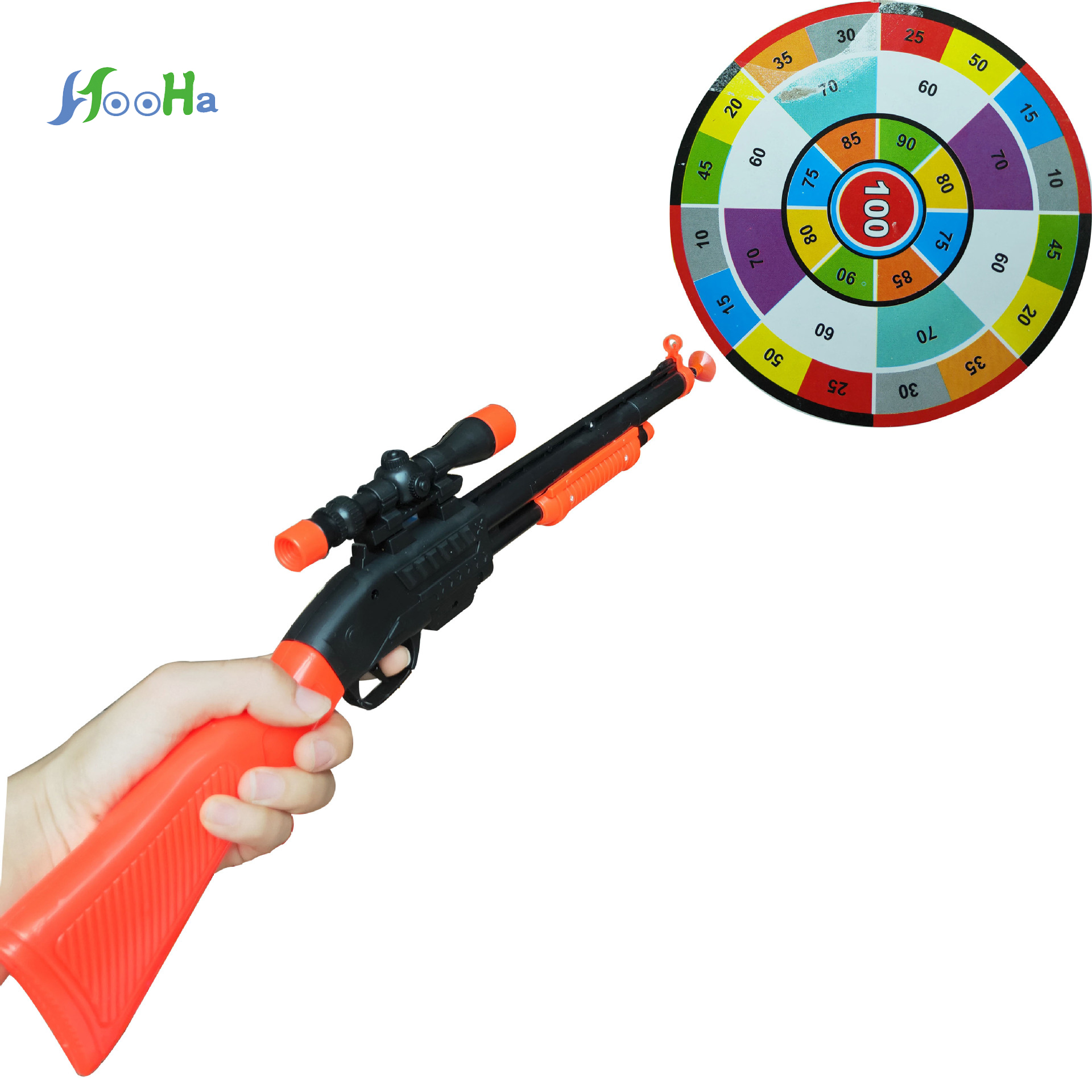 Children Sucker Soft Bullet Gun Children Toy Launch Pistol Plastic Toy Gun Color Long Gun For Children Gifts Have A Good Quality