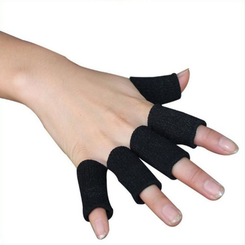 For Volleyball Badminton Basketball Finger Sleeves Washable Protective Fingertip Guard Braces Support Sports Protector Cover