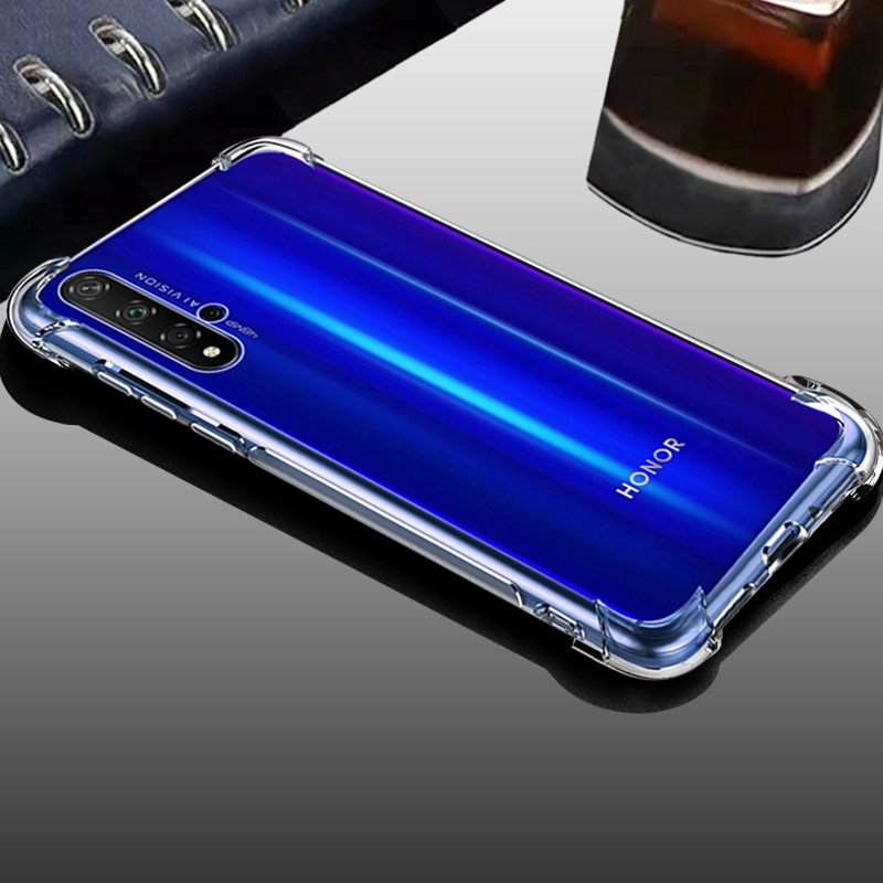 clear transparent Soft tpu phone back etui,coque,<font><b>cover</b></font>,<font><b>case</b></font> for <font><b>huawei</b></font> <font><b>nova</b></font> <font><b>5t</b></font> 5 t for Honor 20s 20 s silicone accessories image