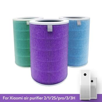 Air Filter For Xiaomi Air Purifier Mi 1/2/2S/3/3H Pro Air Purifier Carbon HEPA Replacement Filter Anti Bacteria formaldehyde