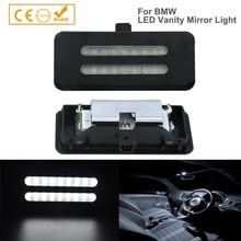 2X lustro toaletowe LED światło do BMW E60 E61 E90 E91 E92 X1 X3 X5 X6 lampy sufitowe LED lampka do czytania akcesoria samochodowe Car Styling