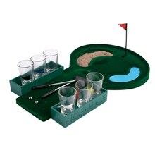 Игра для игры в гольф, настольные игры для вечевечерние, бара, веселая доска для гольфа с 6 очками, новинка, игрушка для напитков